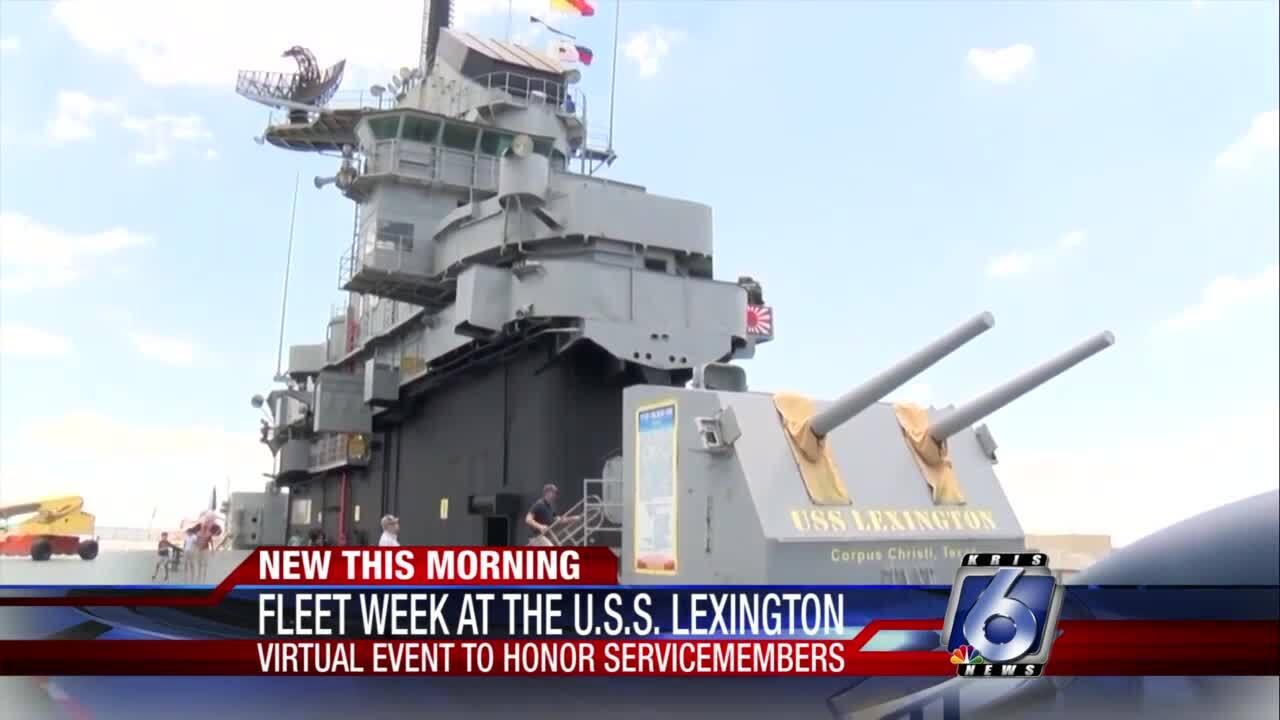 Fleet Week at the U.S.S. Lexington