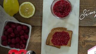 Easy and healthy Raspberry Chia Jam
