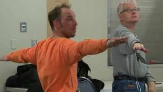Warrior Pose: Yoga helping veterans heal