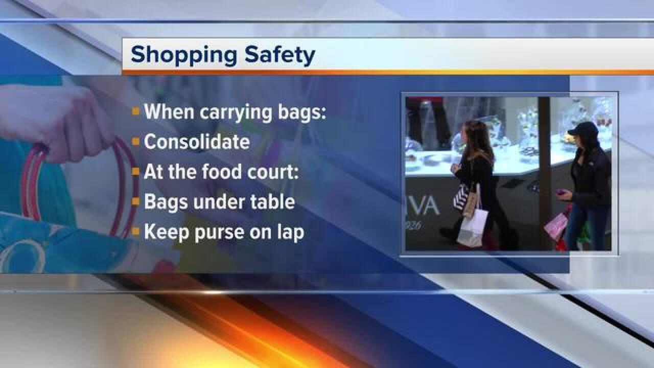 How to keep your family safe while shopping