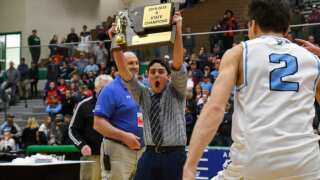 All smiles: Bigfork rallies past Missoula Loyola for 2nd straight State B boys title