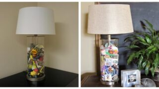 Turn Your Children's 'pocket Treasures' Into Keepsake Lamps