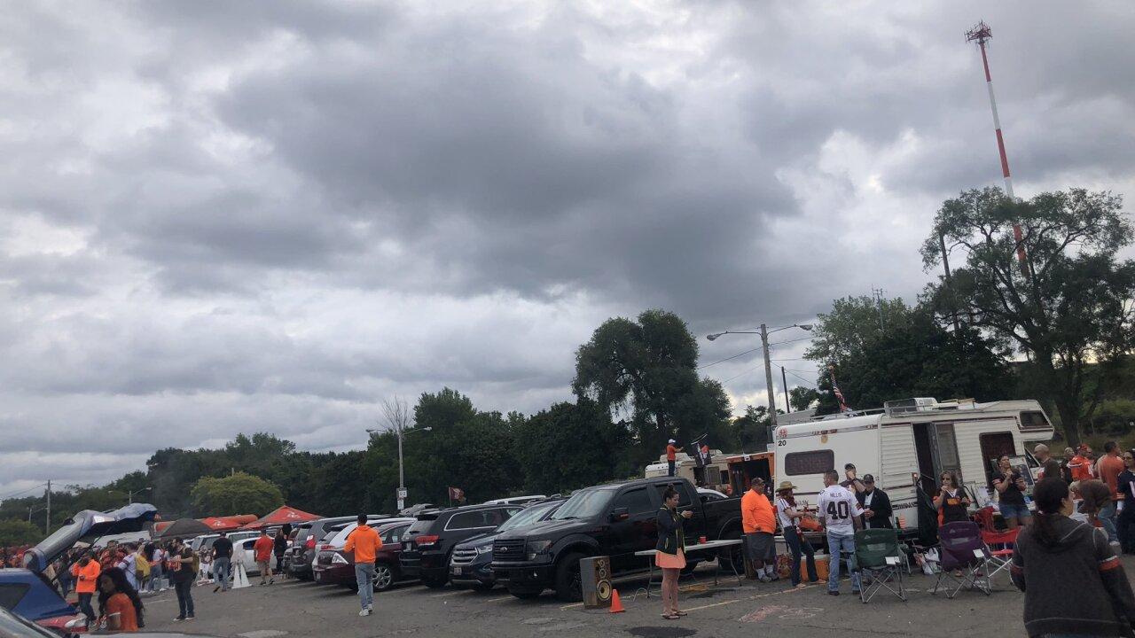 Browns Muni Lot on Sunday, Sept.8.