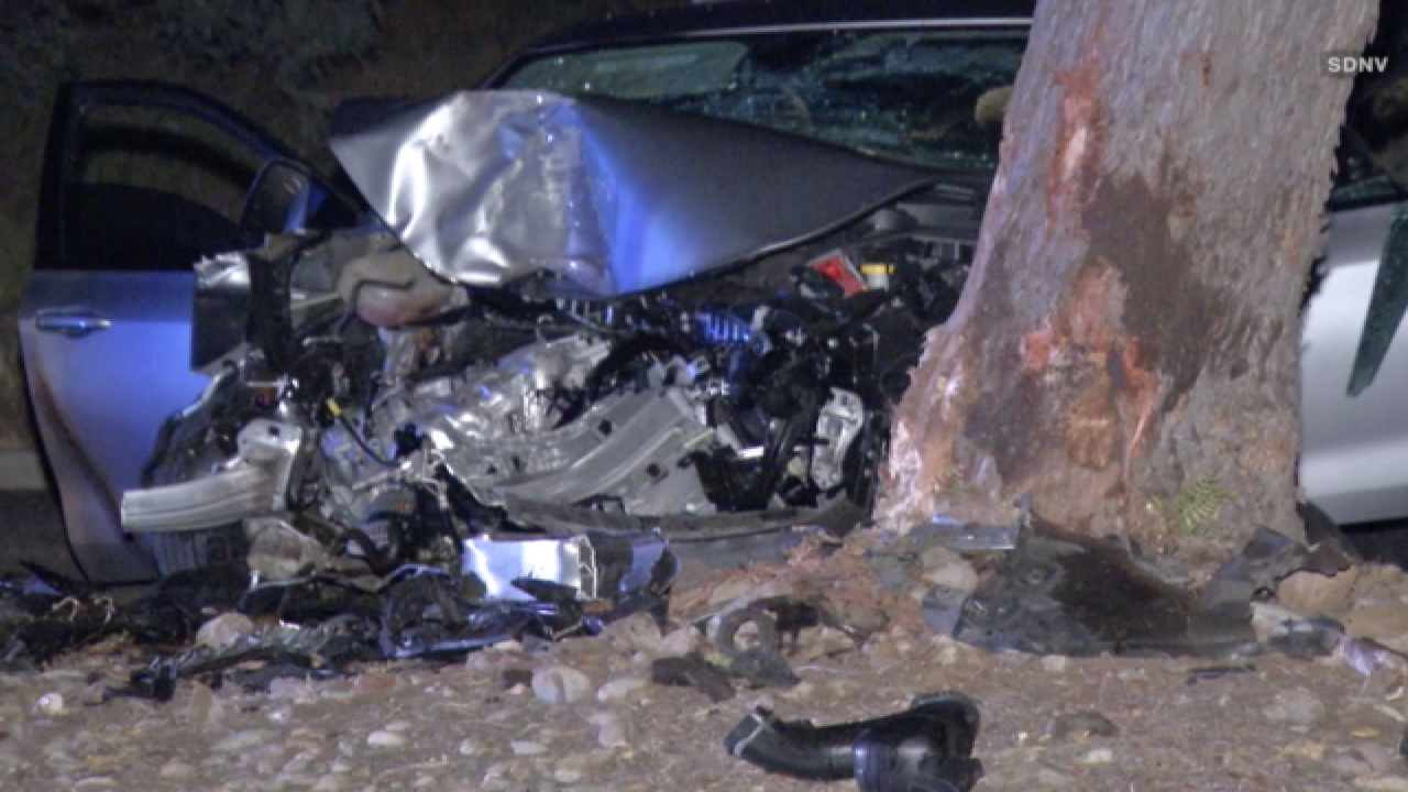 Trial begins over Ramona crash that killed pregnant woman on
