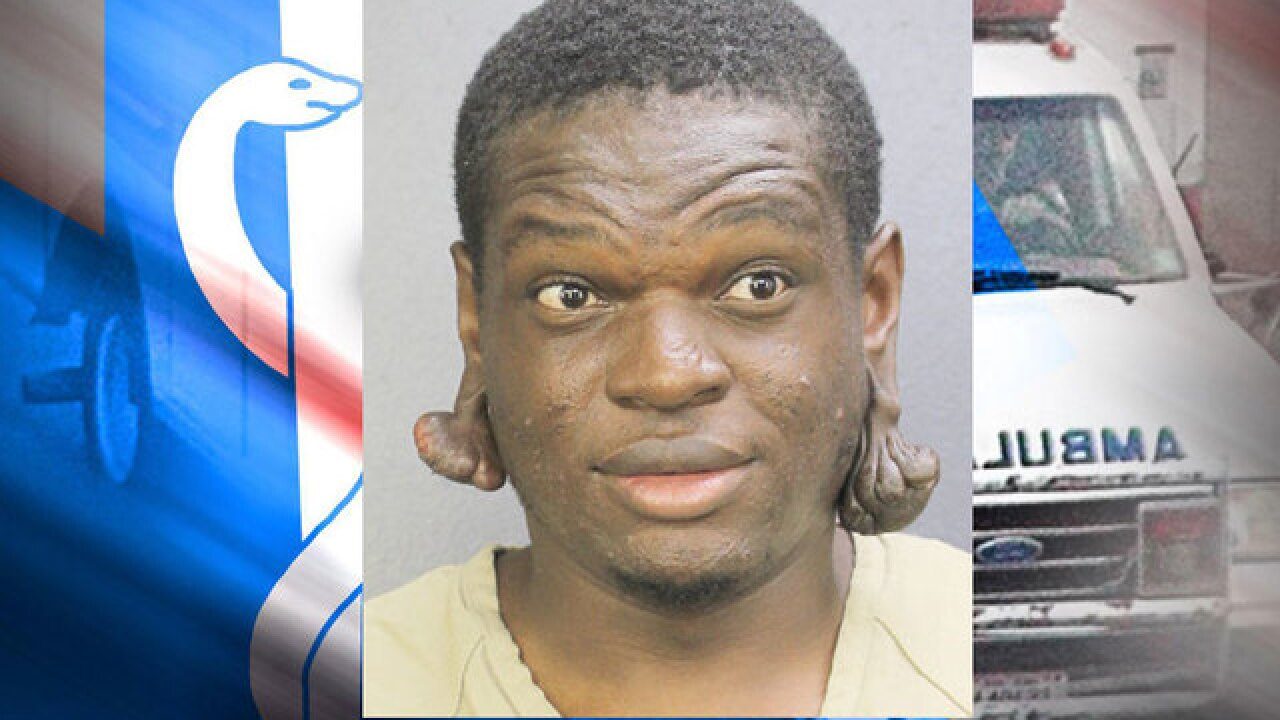 Police: Florida man stole ambulance after getting out of hospital