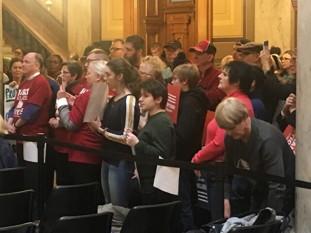 PHOTOS: Hundreds of Hoosiers attend March for our Lives rally at Statehouse