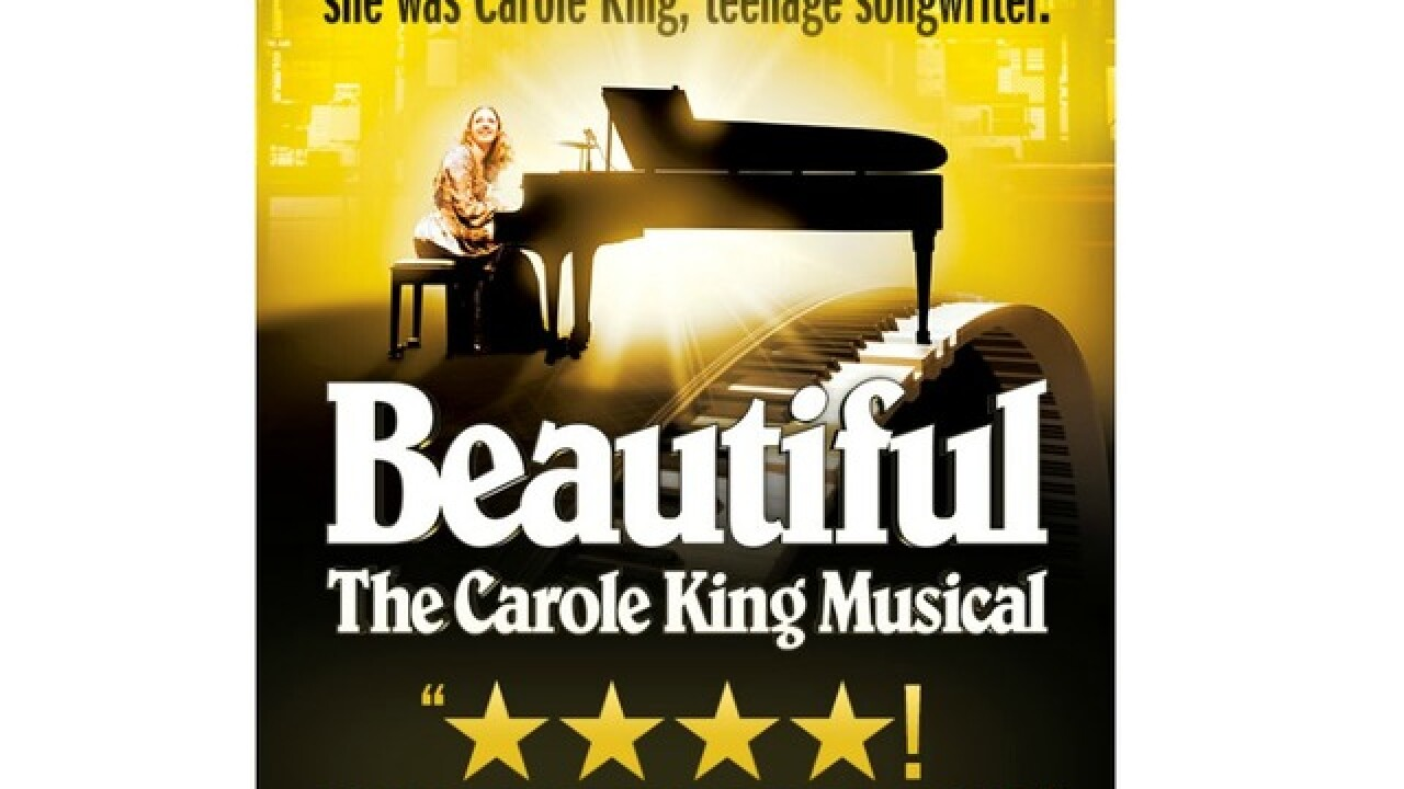 Watch 2 Win: Five winners to receive a pair of tickets to Beautiful: The Carole King Musical Nov. 28