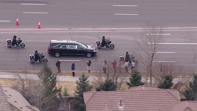Photos: Colorado honors Douglas County Deputy Zackari Parrish in procession, funeral