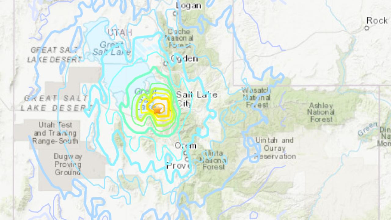 Magnitude 5.7 Earthquake in Northern Utah