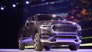 2019 RAM 1500 north American international auto show