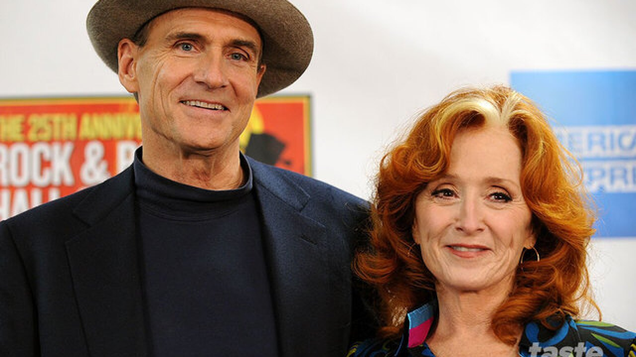 James Taylor with special guest Bonnie Raitt coming to Sunrise