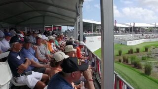 Veterans honored at Honda Classic