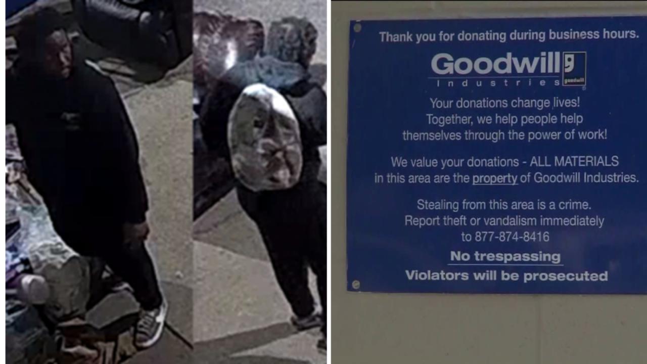 Man caught on camera destroying donations at Virginia BeachGoodwill