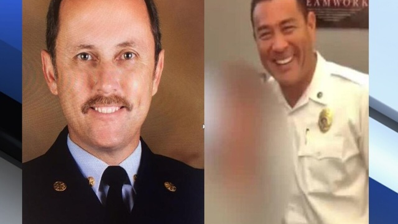 Two more Palm Beach County high ranking Fire Rescue officials out; one fired, one resigns