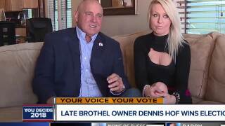 Dennis Hof wins election one month after his death