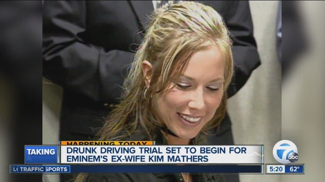 Eminem's ex-wife, accused of drunk driving, to stand trial