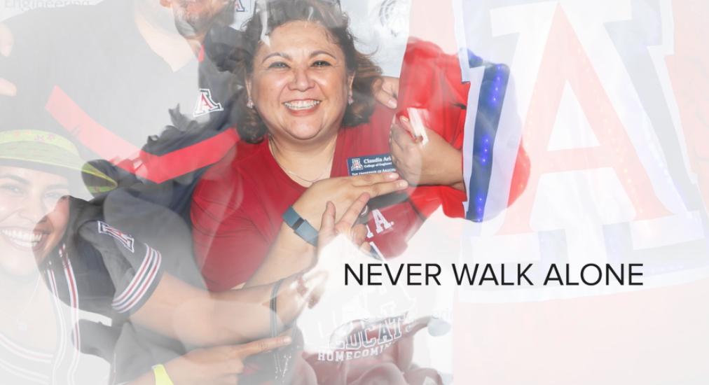 Making Strides: Never Walk Alone