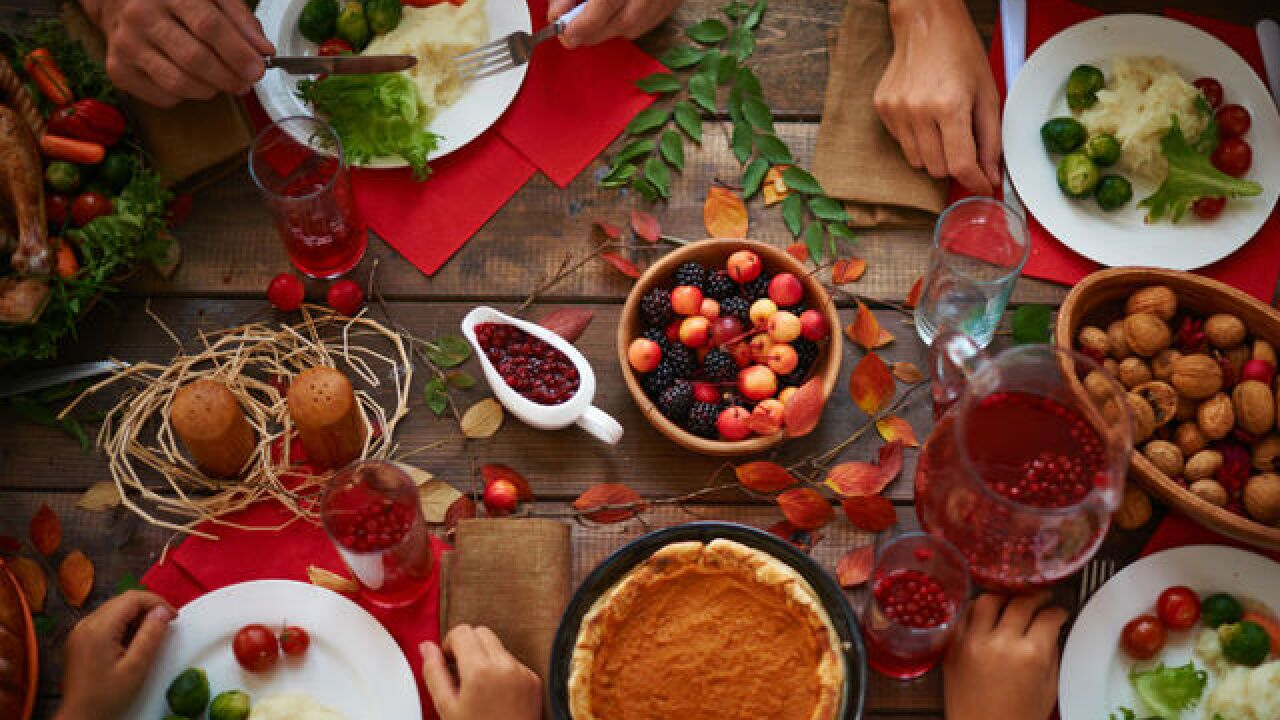 Friendsgiving and Thanksgiving Specials in Las Vegas | 2018