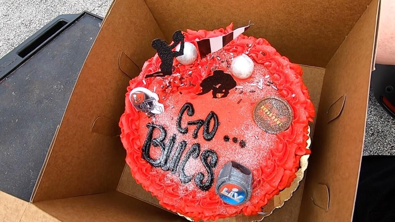 Buccaneers cake