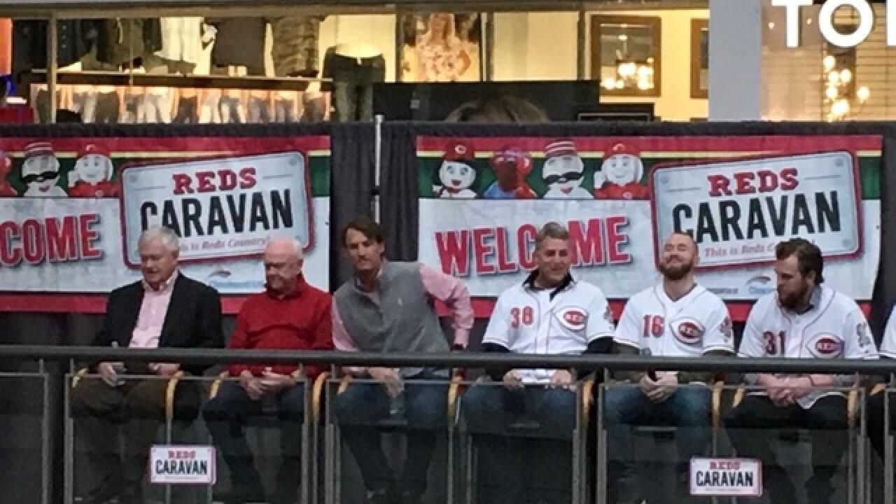 Loyal fans flock to Reds Caravan