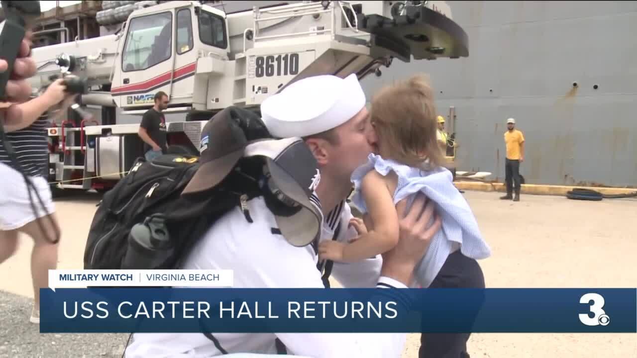 Carter Hall homecoming