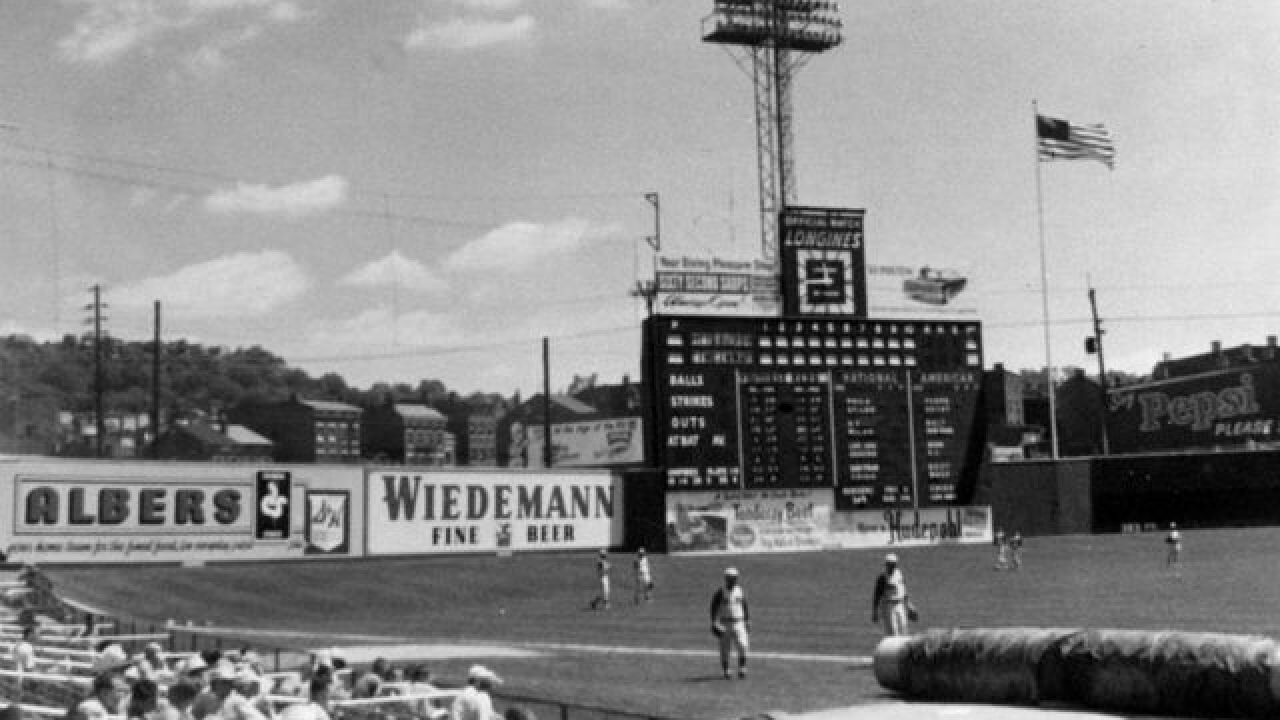 Crosley Field memorial site going forward