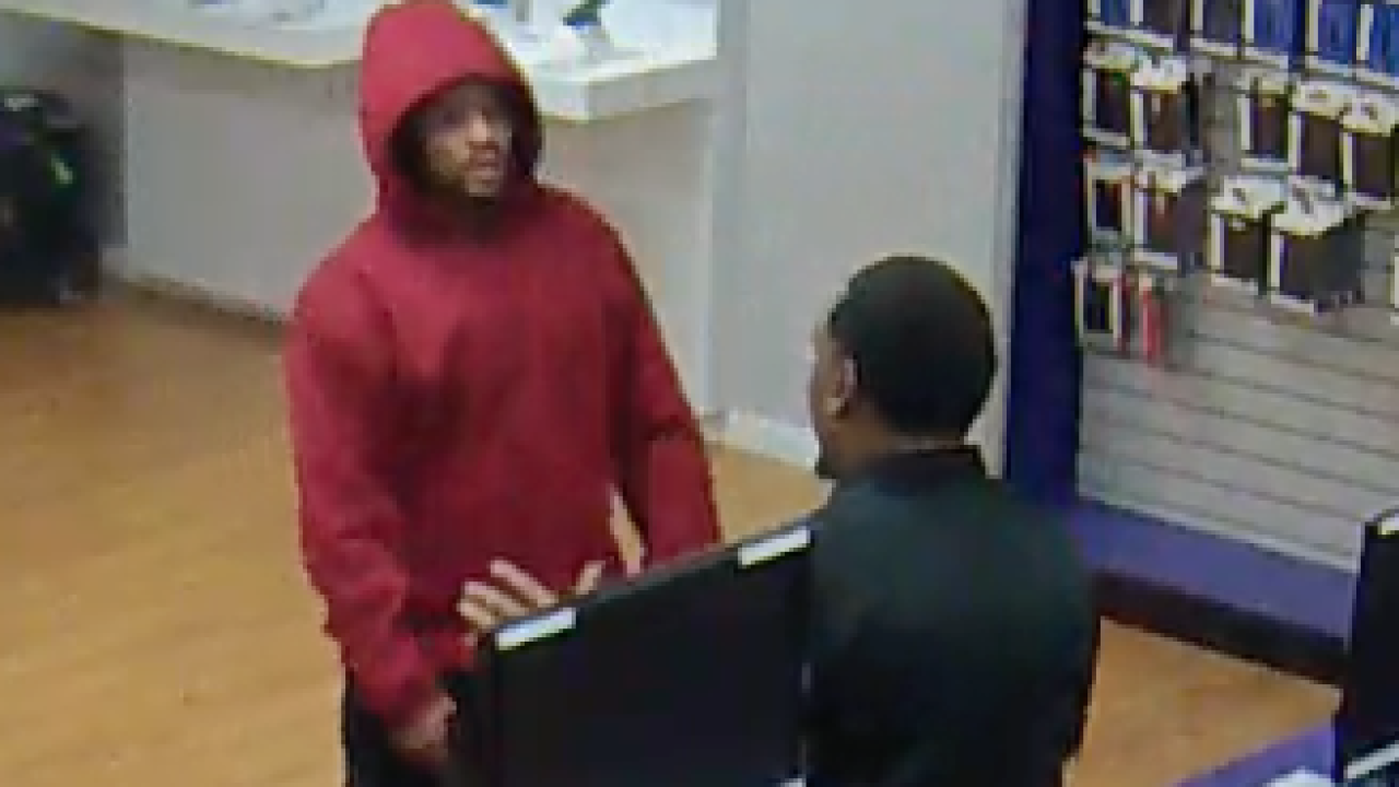 Portsmouth Police searching for two Metro PCS robbery suspects