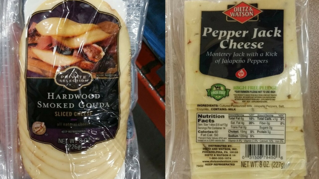 Cheeses recalled due to Listeria concerns