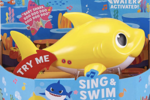 You Can Now Buy A Singing 'Baby Shark' Bath Toy