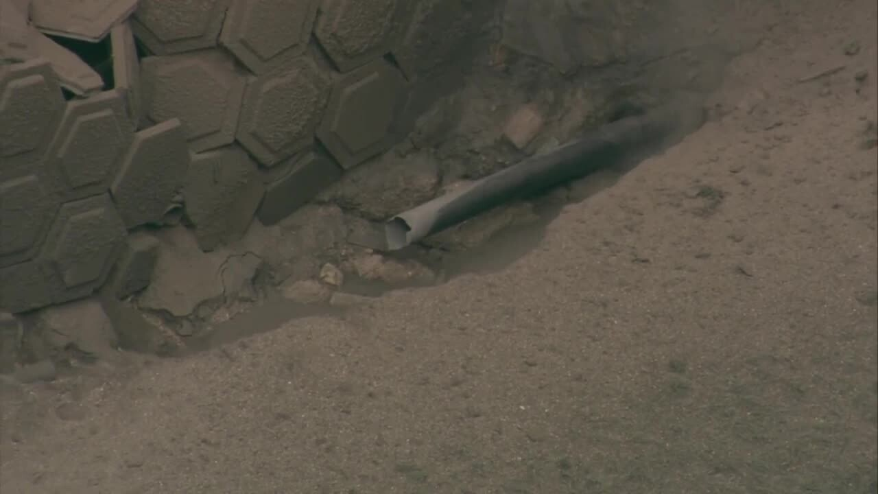 LIVE: Ruptured gas line shuts down Florida Turnpike near Lake Worth Road