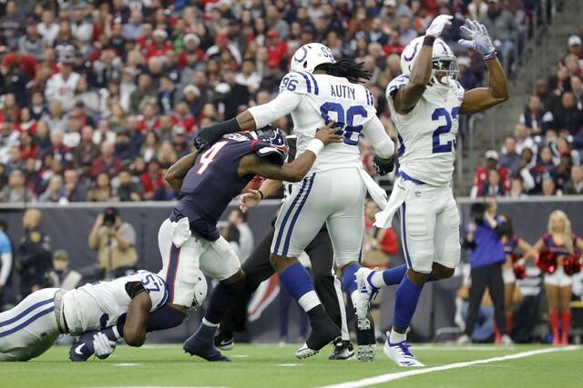 PHOTOS: Colts beat Texans 24-21