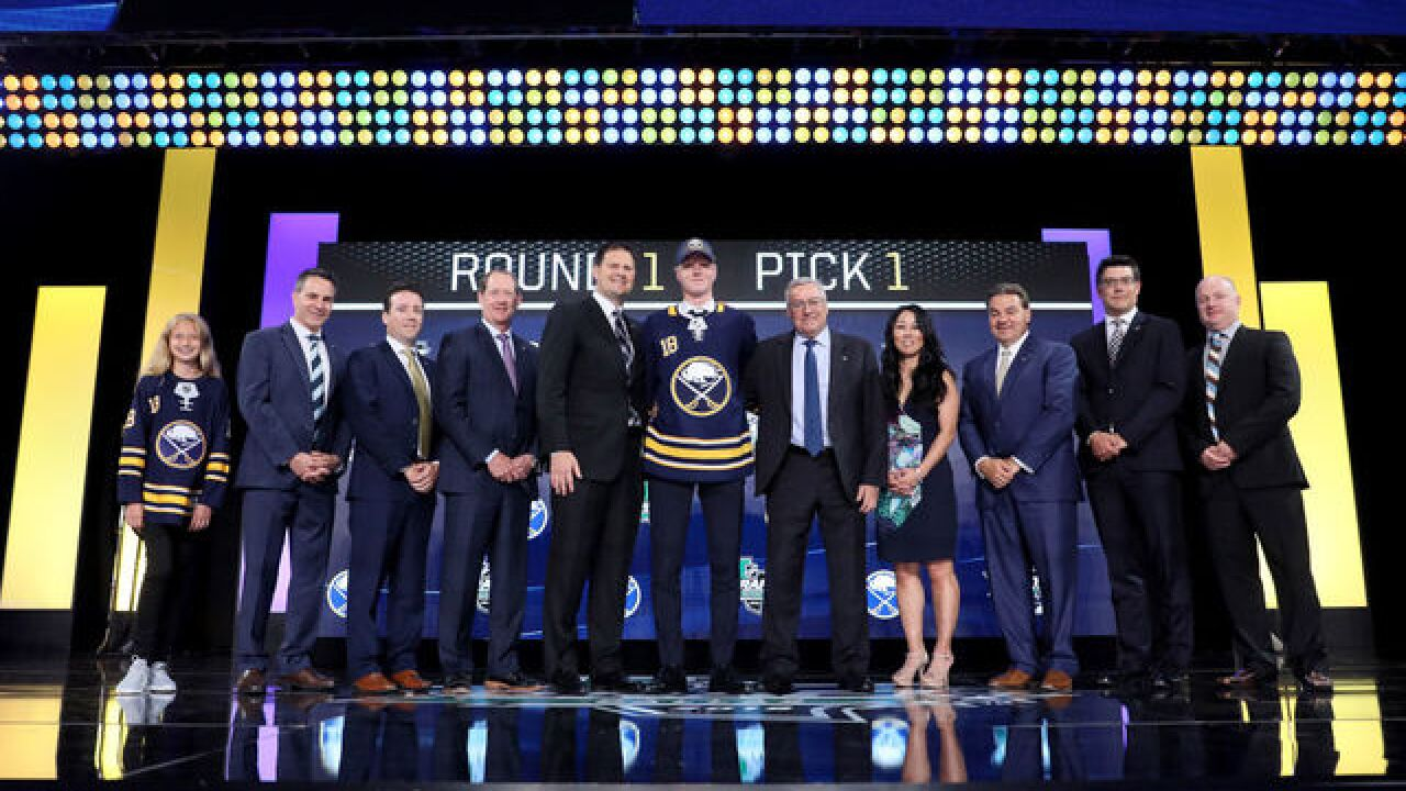 Home Swede Home - Sabres take Rasmus Dahlin with No. 1 pick