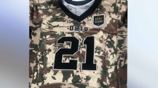 Fairfield Ohio National Guard jerseys