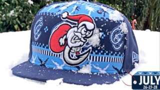 Christmas in July: Hooks spread holiday cheer with snow, 'ugly sweater' jerseys