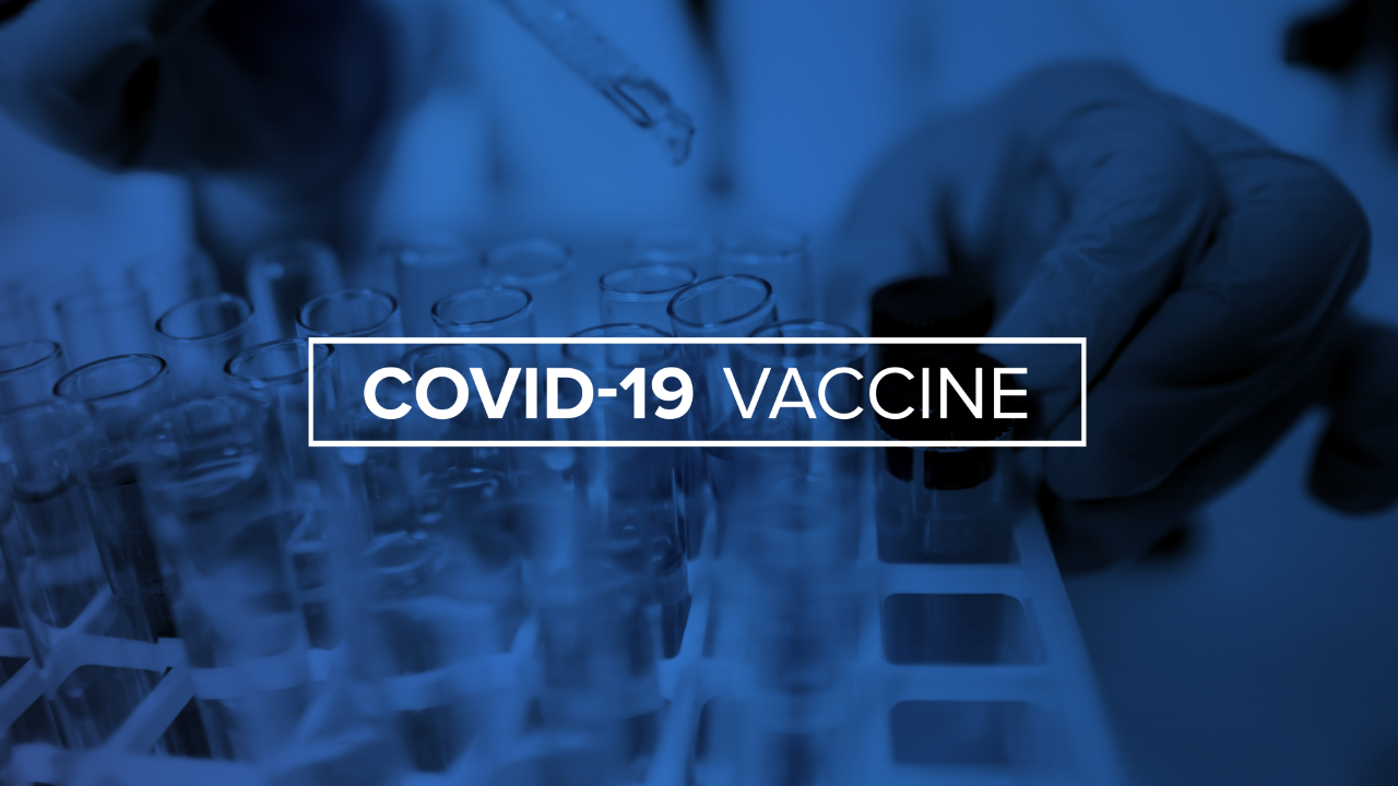 COVID-19 Vaccine in Oklahoma (BLUE)