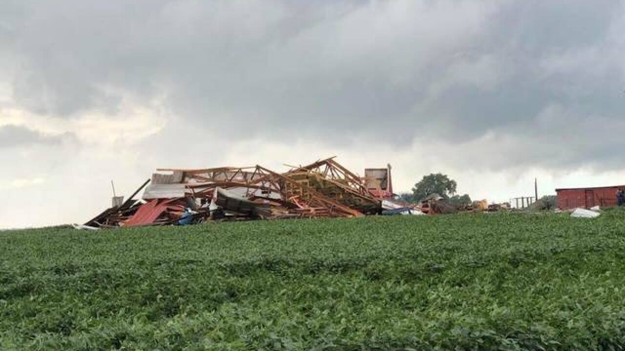 EF1 tornado touches down in Madison County
