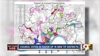 TIF districts