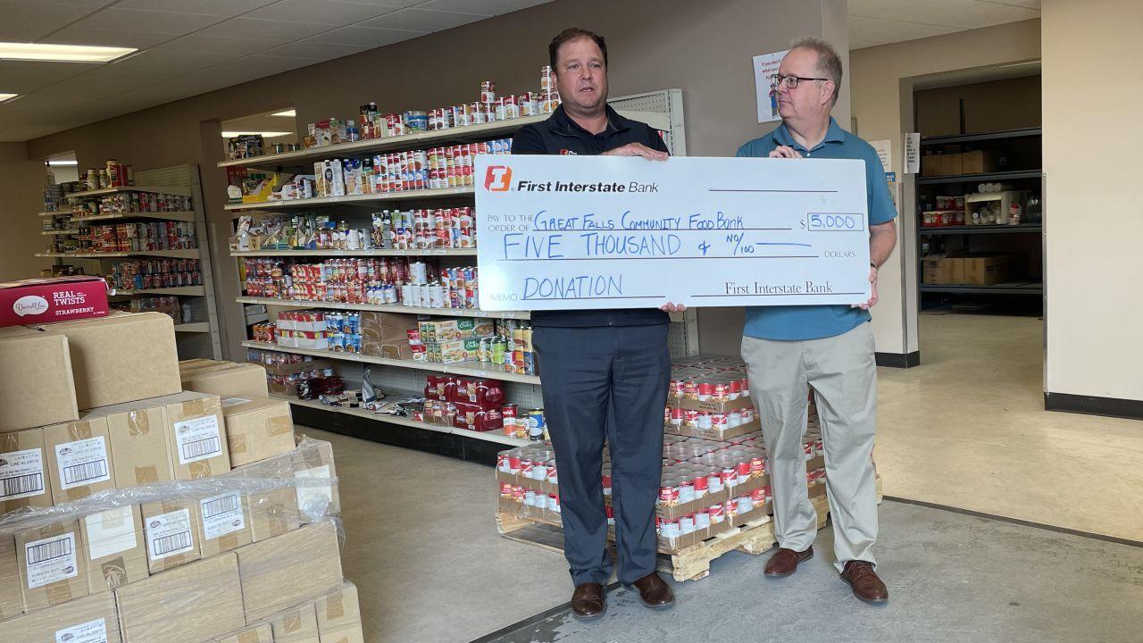 Feel Good Friday: Community helps Great Falls food bank