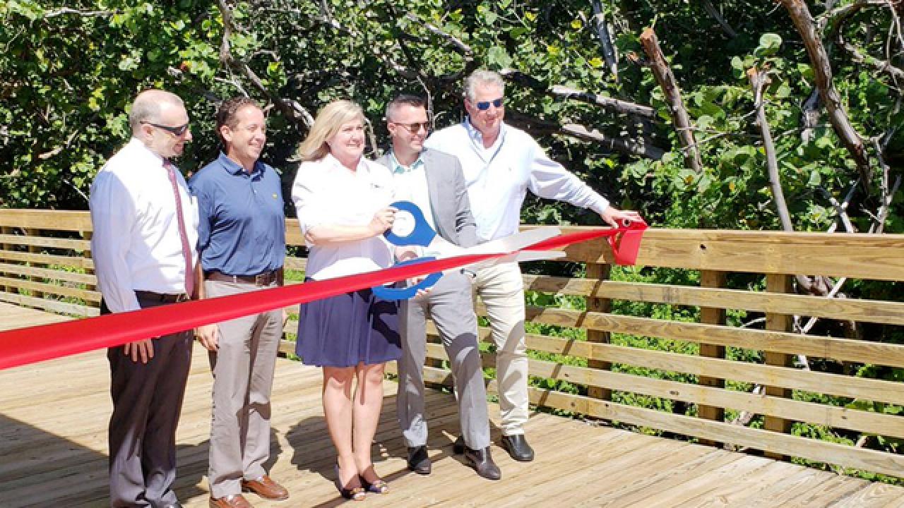 New pavilion open at Atlantic Dunes Park