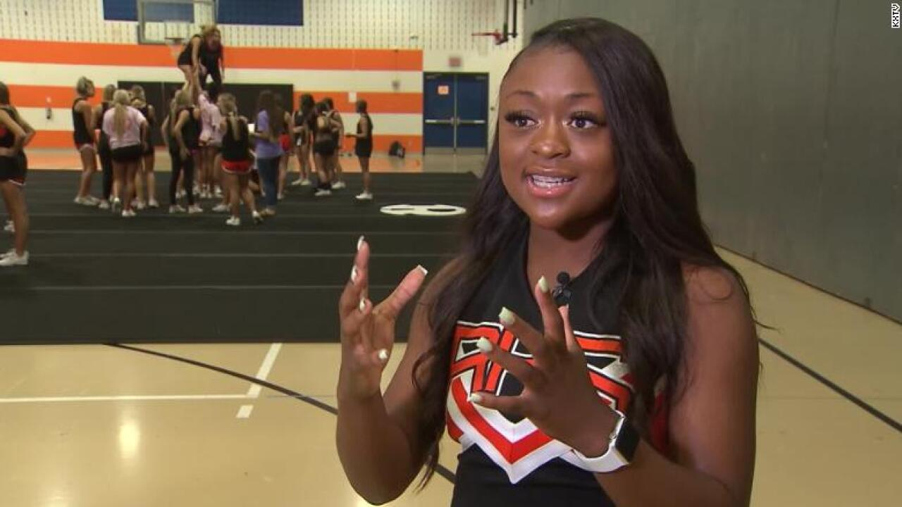 Texas cheerleader jumped off homecoming float to save a choking boy