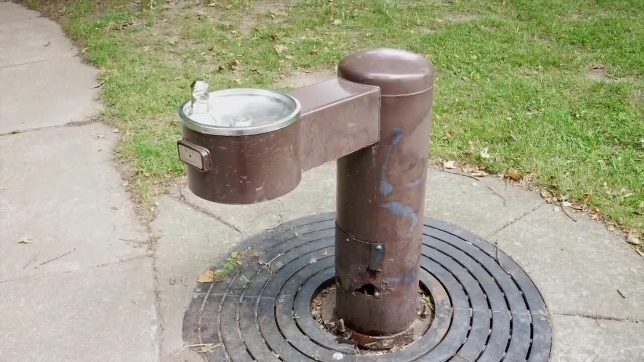 Drinking Fountain in Lansing
