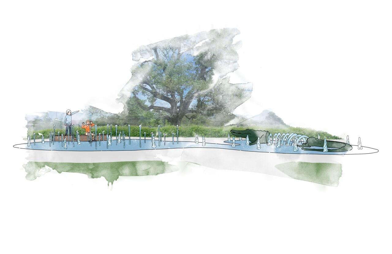 Interactive Water Feature Watercolor – Moncus Park.jpg