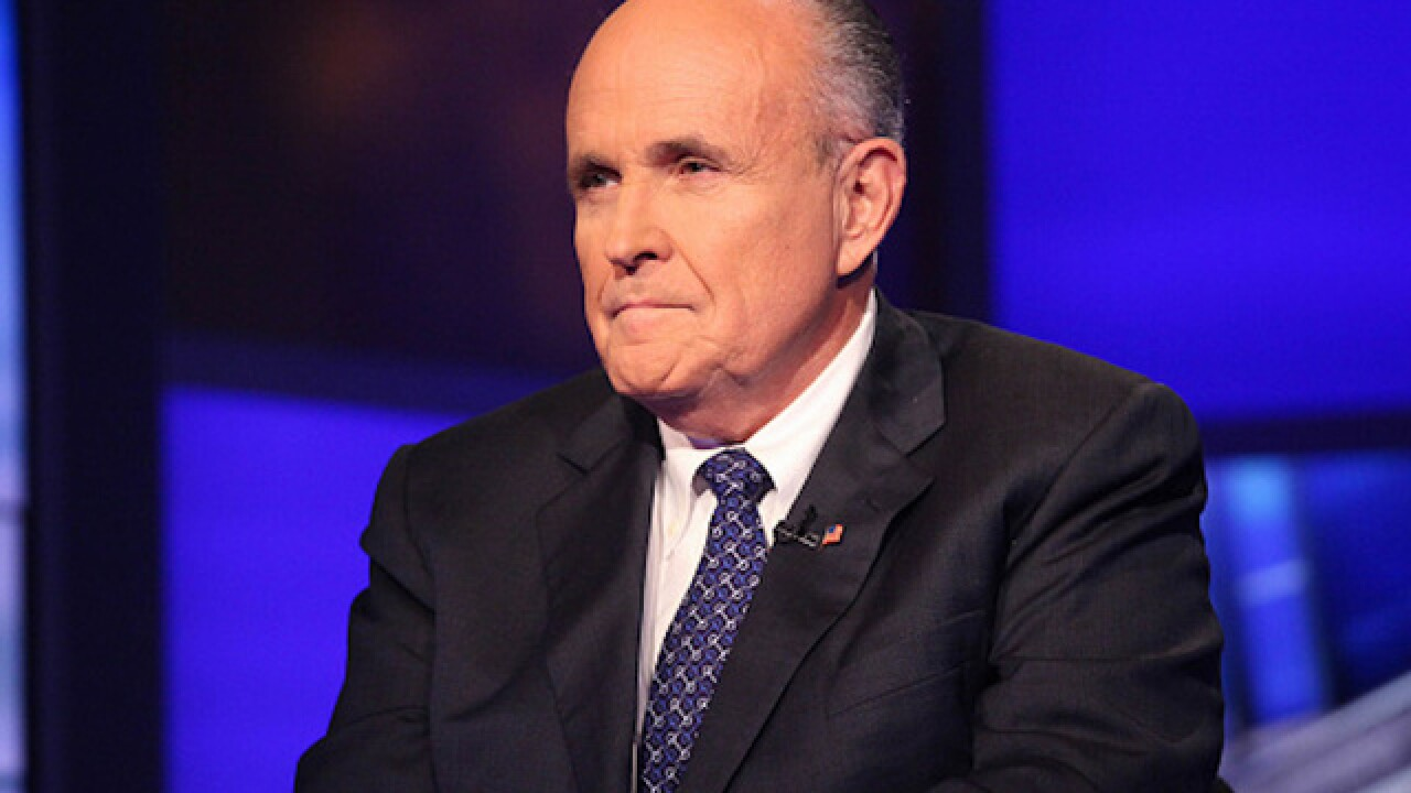Rudy Giuliani favored to be Trump's secretary of state