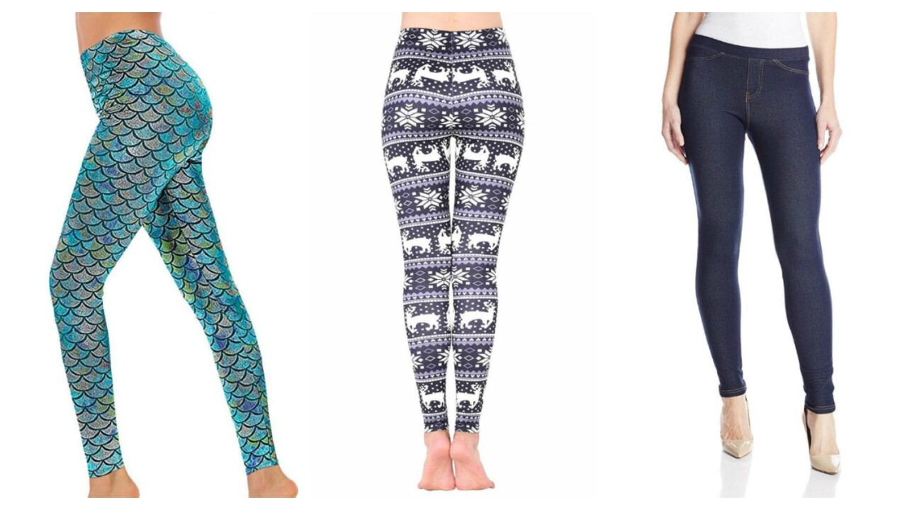 Amazon customers' 10 'most-loved' leggings
