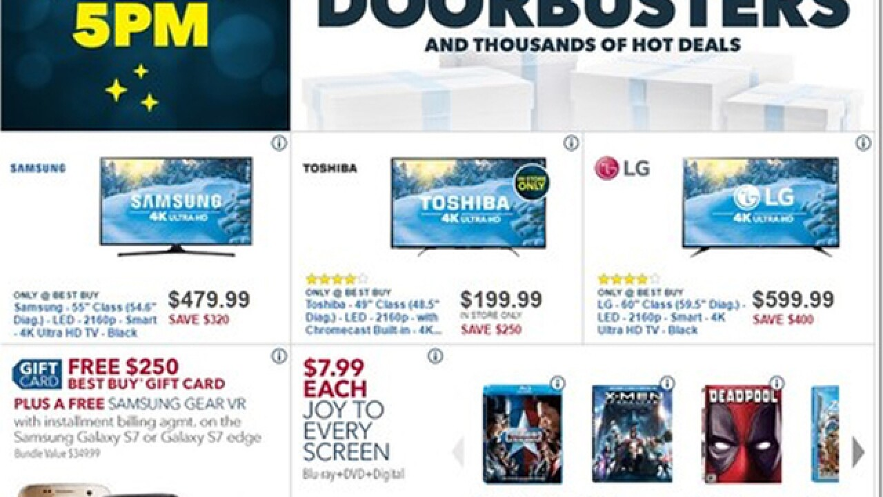 Best Buy Black 2016 Friday ad is released