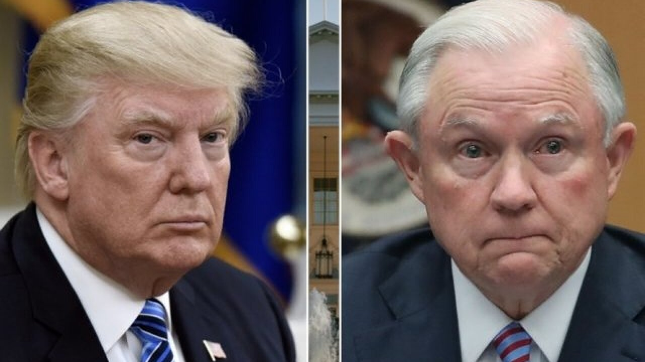 DC Daily: Trump-Sessions saga continues