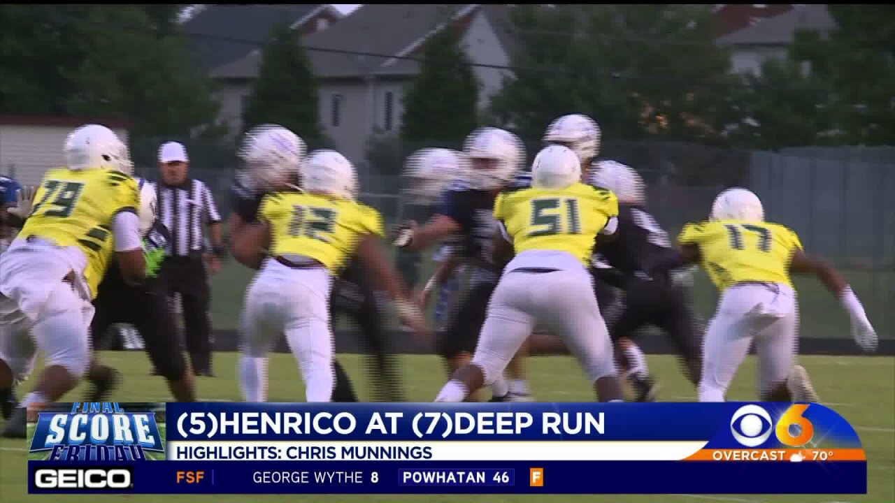 Deep Run makes deep statement with win over Henrico