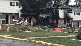 Lanier Ave. Apartment explosion - October 2020
