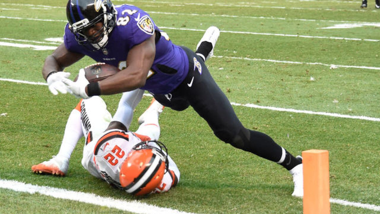 Ravens down winless Browns 27-10
