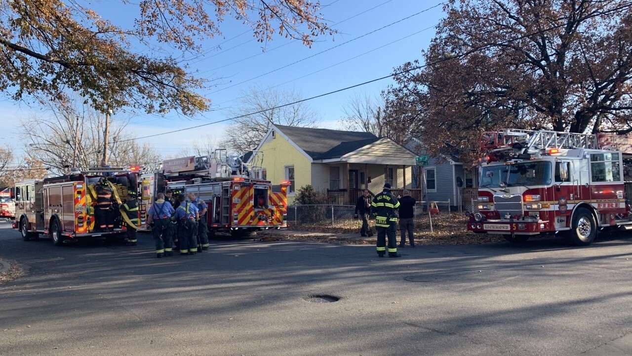 East End house fire started in back bedroom, crewssay